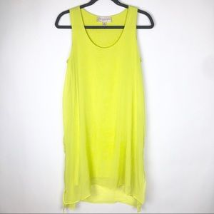 Philosophy Neon Shift Dress Sleeveless